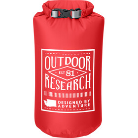 Outdoor Research Graphic Dry Sack Retro 5l Hot Sauce
